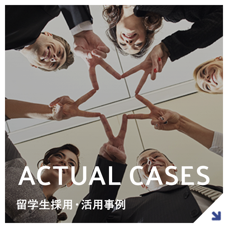 ACTUAL CASES採用活用事例